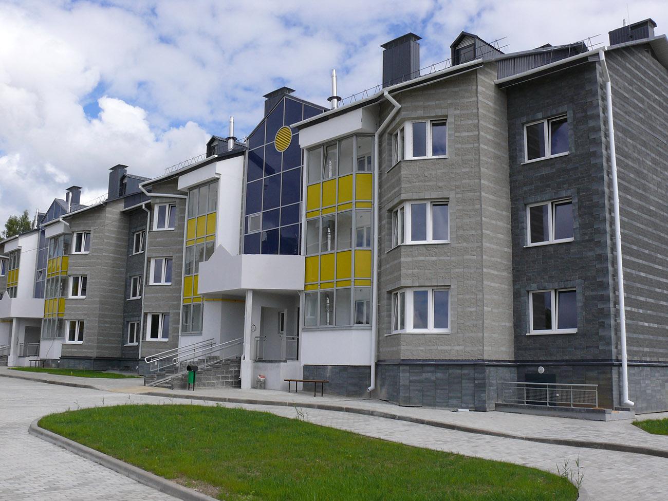 Остекление многоквартирного дома №1.1